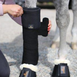 Kentucky Horsewear Stable Bandage Pads Black