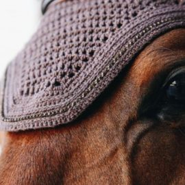 Kentucky Horsewear Fly Veil Wellington Sparkling Brown