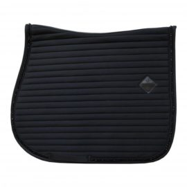 Kentucky Horsewear Saddle Pad Pearls Show Jumping Black