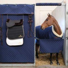 Kentucky Horsewear Stable Curtain Navy