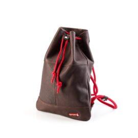 Equipe Luxury Leather Drawstring Bag