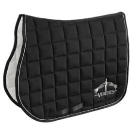 Veredus Microfibre Dressage Saddlecloth Black
