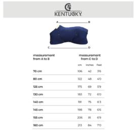 Kentucky Horsewear Rug Size Guide