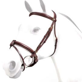 Flash Bridle Rolled Noseband